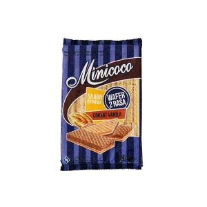 MINICOCO Wafer Cream Pack 2 FLAVOUR Chocolate Vanilla